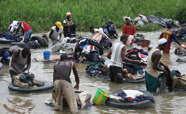 A roupa suja, o produz diarreia?