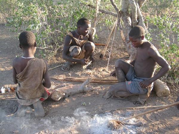 As bactérias intestinais, desta tribo mudam de acordo com a estação