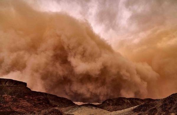 Como afeta a minha saúde, uma tempestade de areia?