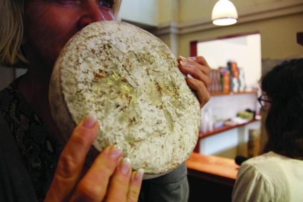 De que é feito o queijo? Alguns, de bactérias humanas