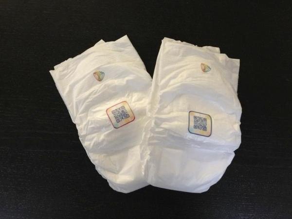 Estas fraldas detectam infecções de urina de um bebê