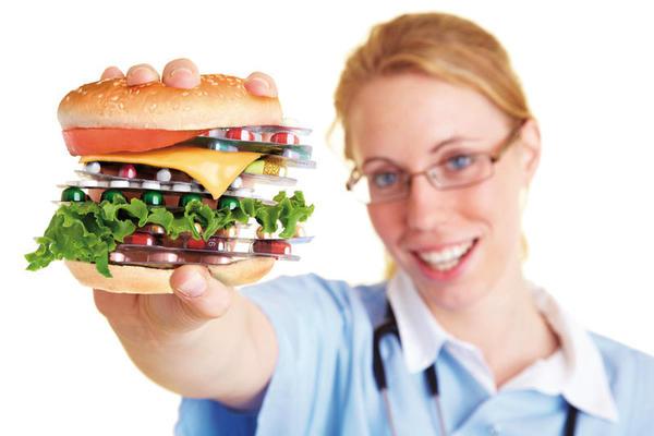 Hambúrgueres com o estatinas?