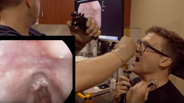 Isto é o que acontece no interior de sua garganta quando você cantar