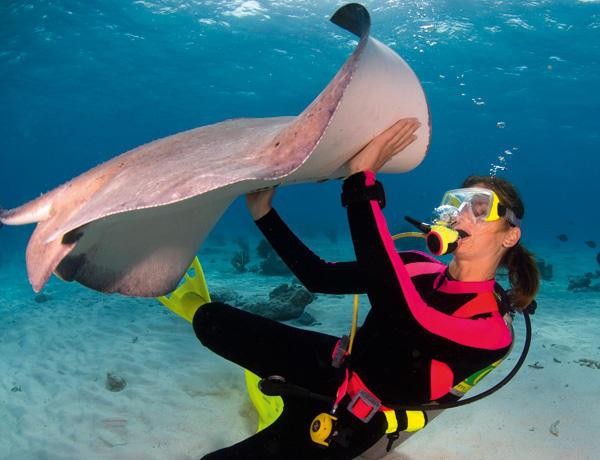 O mergulho pode ser prejudicial para os ossos?