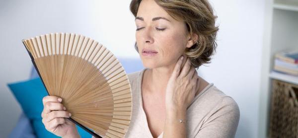 Os sofocones a menopausa pode ser um mau sinal