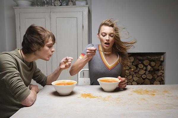 Por que a comida quente para sentirse melhor?