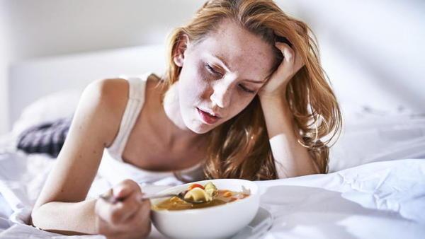 Por que perdemos o apetite quando estamos doentes?